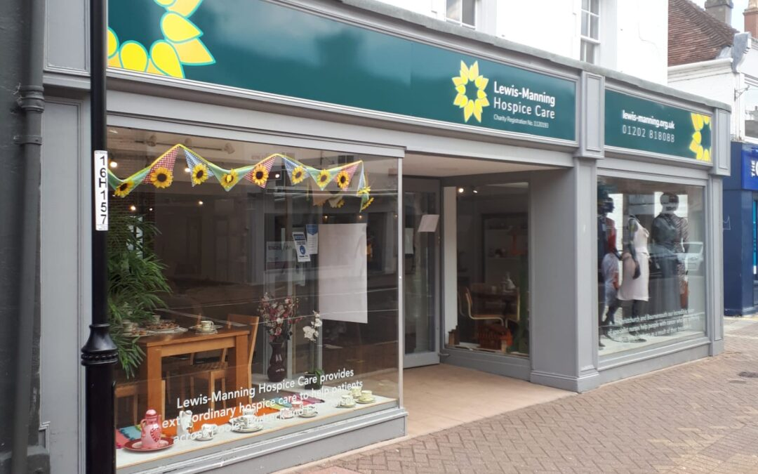 Brand New Lewis-Manning Hospice Care Charity Shop Opens in Christchurch!
