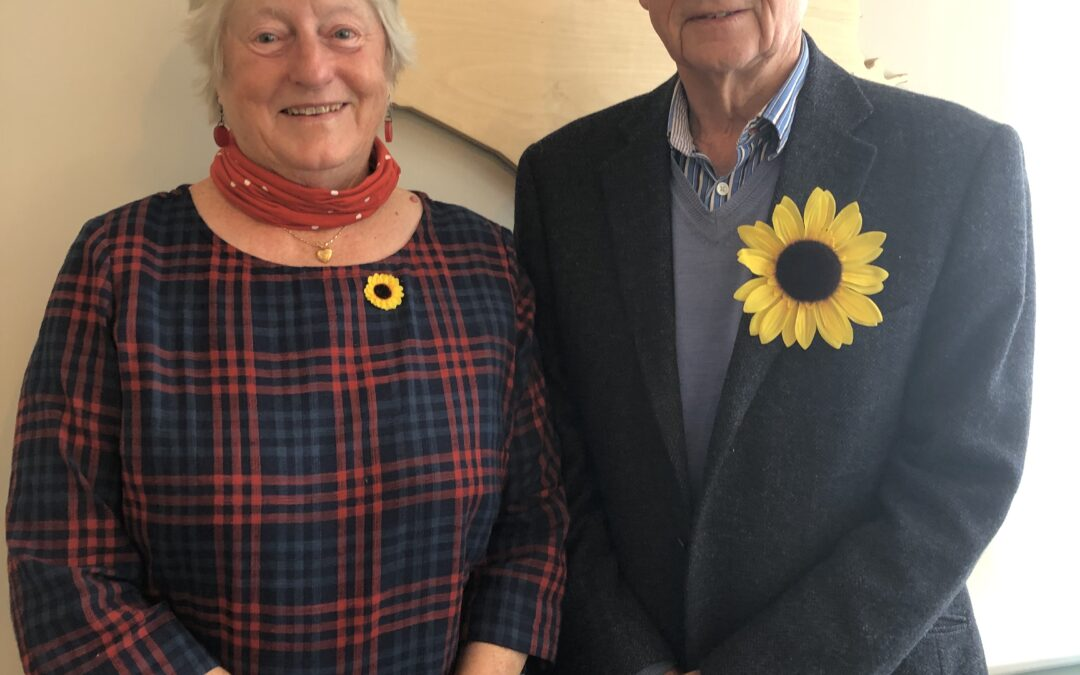 Sir Simon and Lady Jill Campbell become Patrons of Lewis-Manning