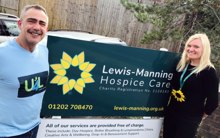 U4L Announces Lewis-Manning Hospice Care As Their Charity Partner
