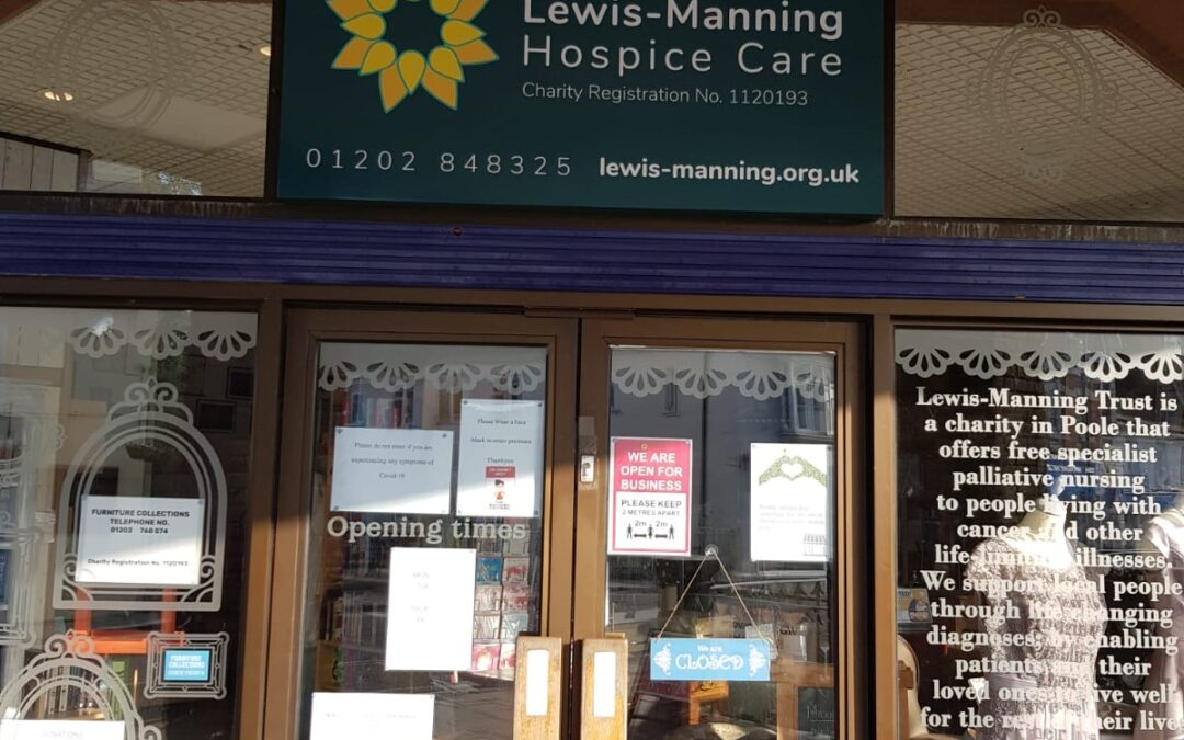 Lewis-Manning Hospice Care shop enjoys re-brand and launch!
