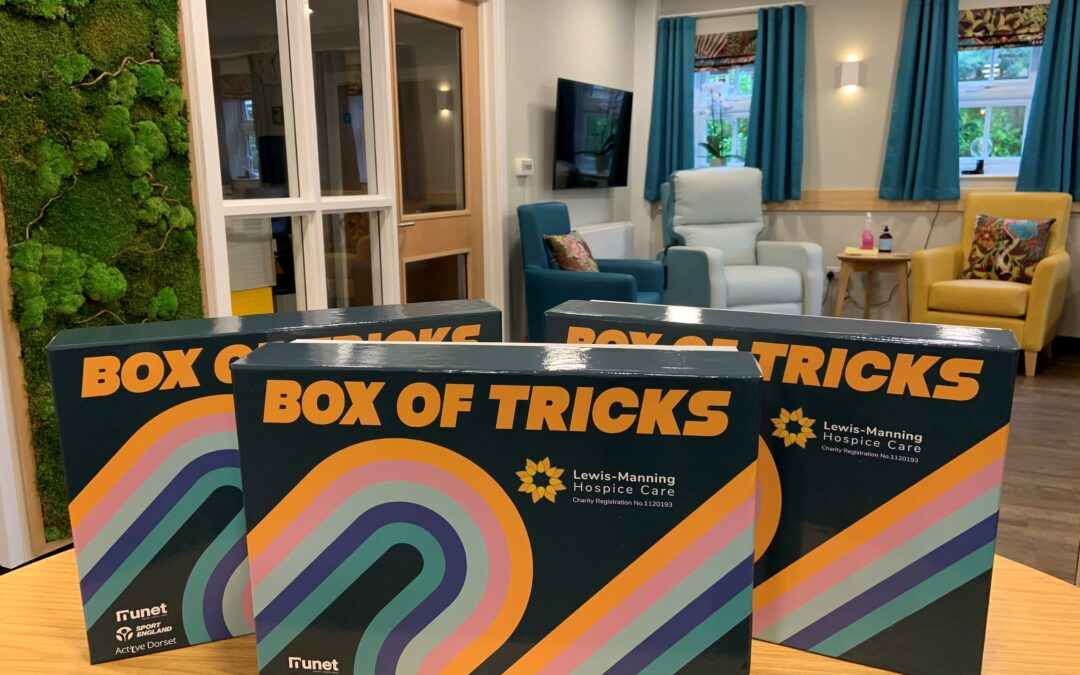 Lewis-Manning Launches Their 'Box of Tricks' Project!