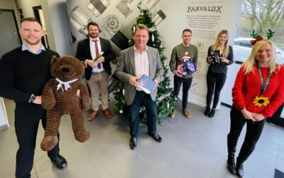 Parvalux team gear up with festive fundraising bonanza!