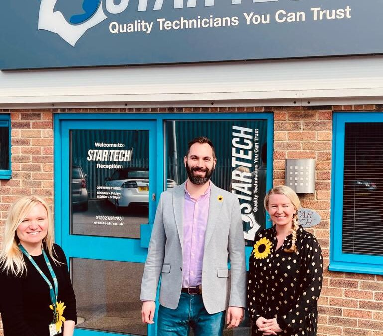 Star Tech Select Lewis-Manning Hospice Care As Their Charity Of The Year