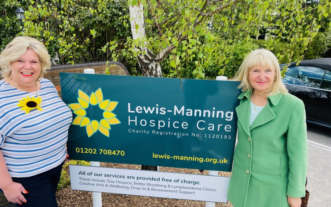 Jacqueline Swift joins Lewis-Manning Hospice Care as Patron