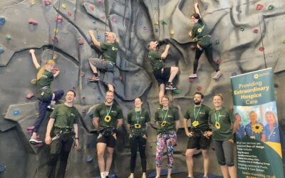 Peter Harding Wealth Management in Three Peaks Climbing Challenge raising funds for Lewis-Manning Hospice Care!