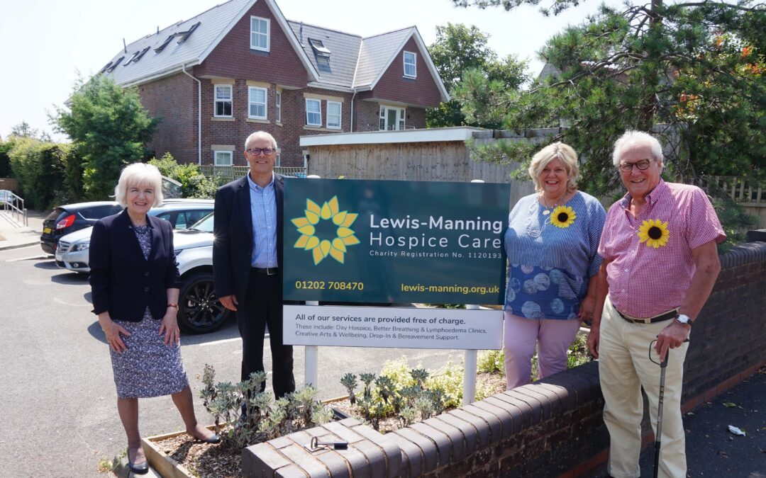 Care South Award Charity Partner, Lewis-Manning Hospice Care, With £2,000 From First Ever Chairman's 2020 Fund
