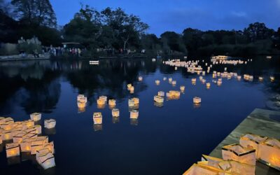 An outpouring of emotions and strong community spirit as thousands come together for 'Candles on the Lake'
