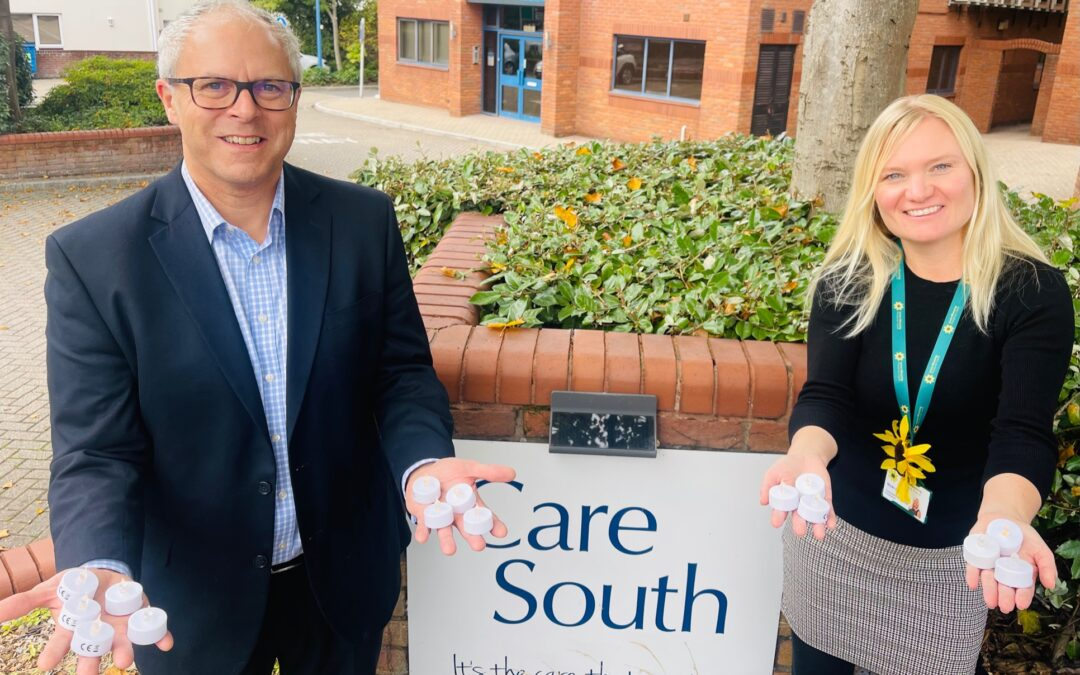 Care South supports 'Candles on the Lake' by purchasing 100 candles